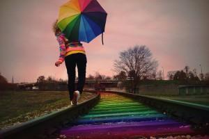 lala on the rainbow track